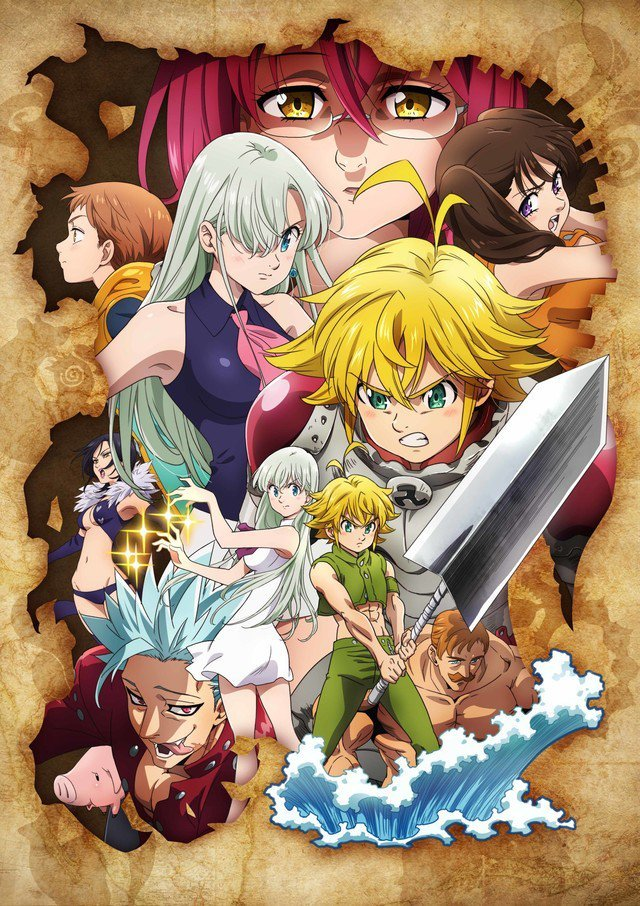 Seven Deadly Sins new TV Anime: stunning visuals and plot reveals!
