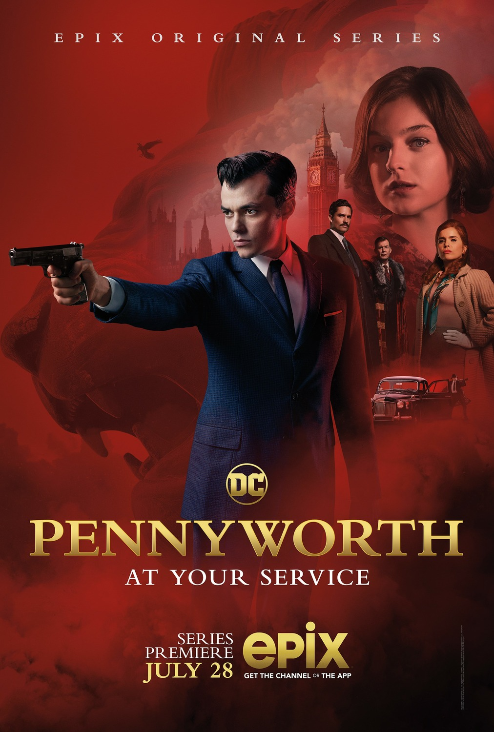 Pennyworth premiere on EPIX hints relationship between Thomas and Martha