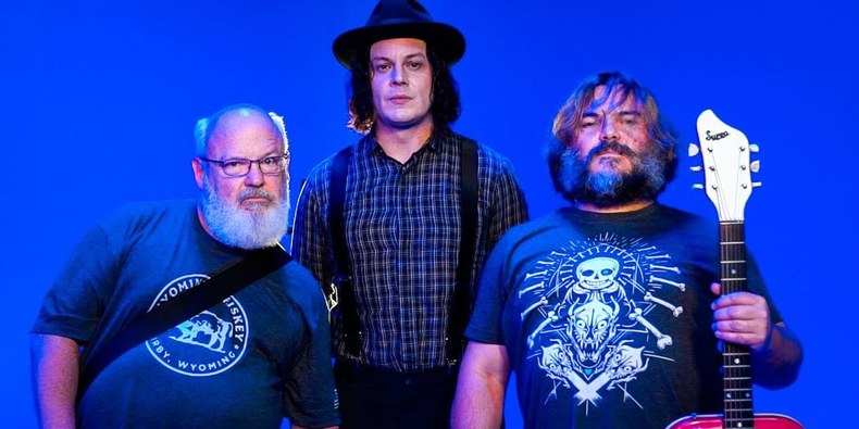 "Jack Black and Jack White are teaming for ""Jack Gray"" and it will be legendary"