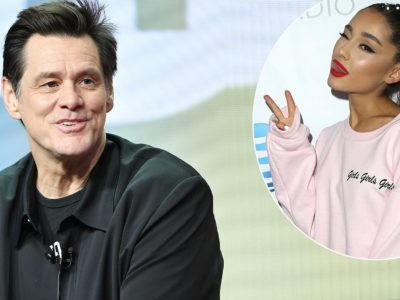 Jim Carrey gushes over working with Ariana Grande