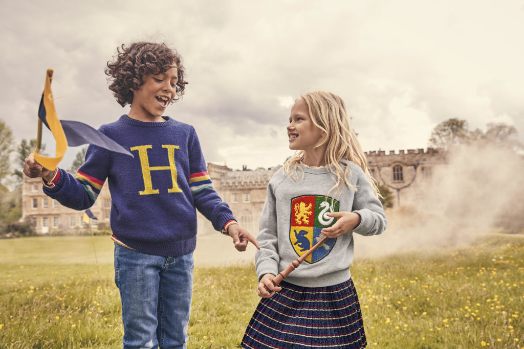 Mini BodenxHarry Potter: collection for mini muggles to have Hogwarts-theme prints and lots more