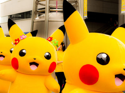 Pikachu Outbreak has taken over the Yokohama train station
