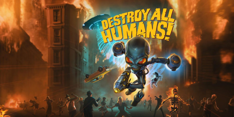 destroy all humans collector edition