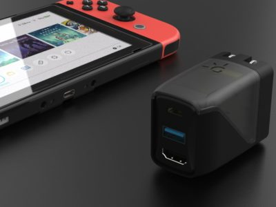 Genki Covert Dock is a portable solution for Nintendo Switch