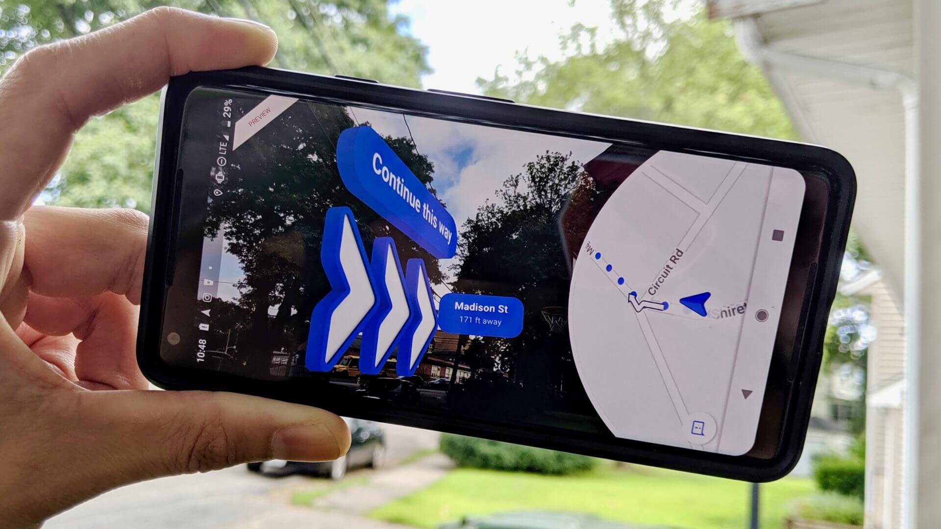 Google Maps introduces new AR navigation