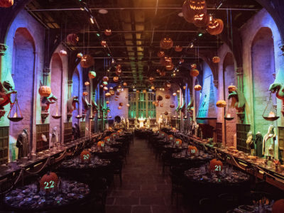 Harry Potter fans can spend Halloween at Hogwarts