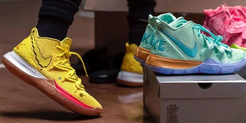 Nike Kyrie Irving x SpongeBob SquarePants Shoes