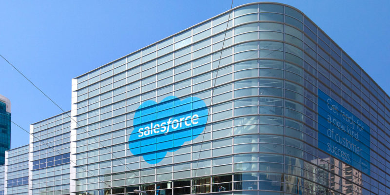 Salesforce closes $15.7 Billion Tableau deal.