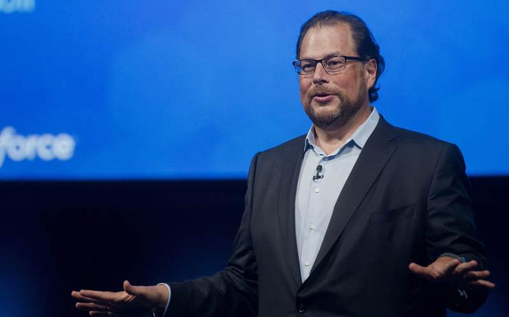 Salesforce chairman Marc Benioff.