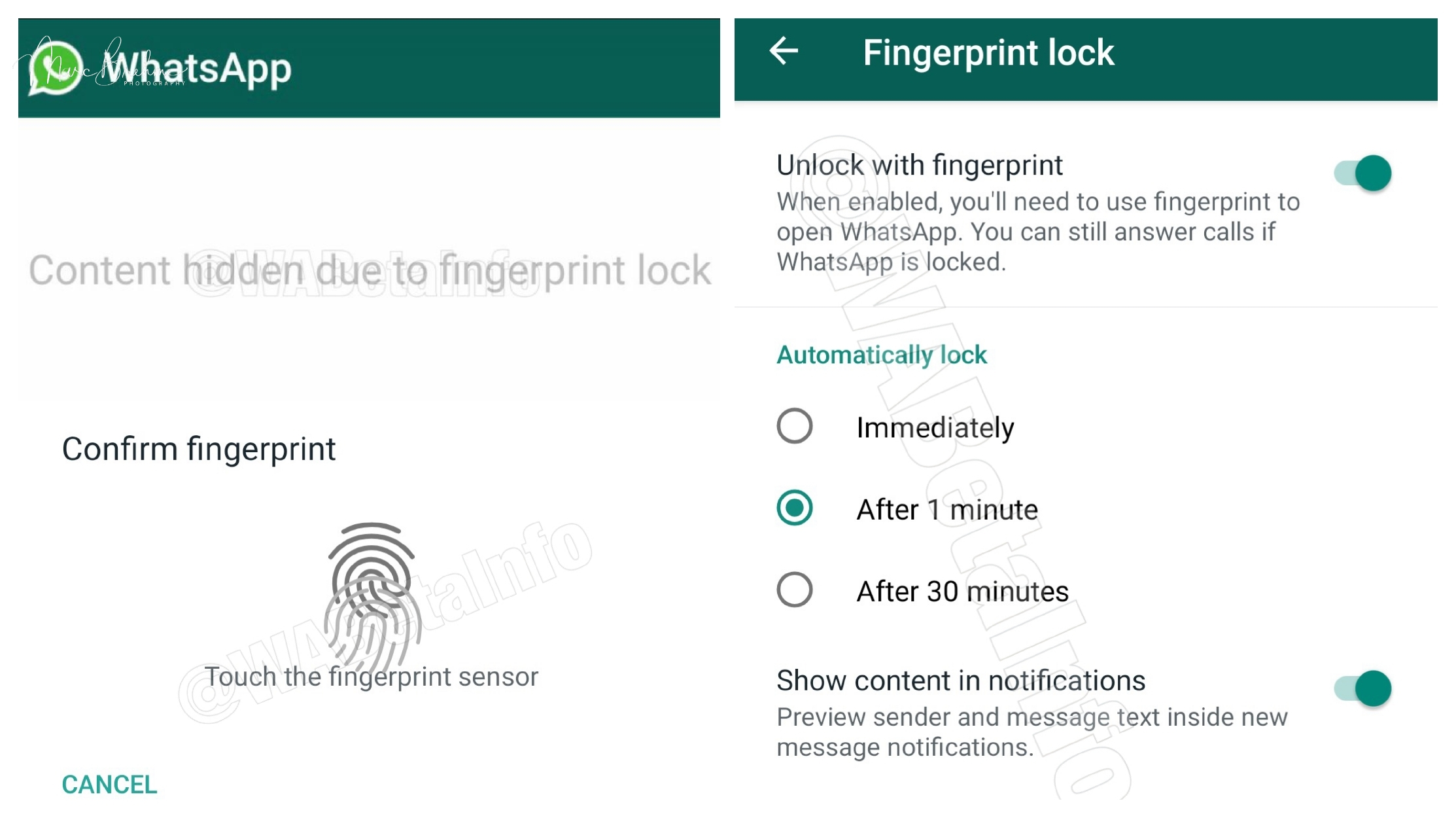 WhatsApp rolls out fingerprint sensor lock for Android Beta Users