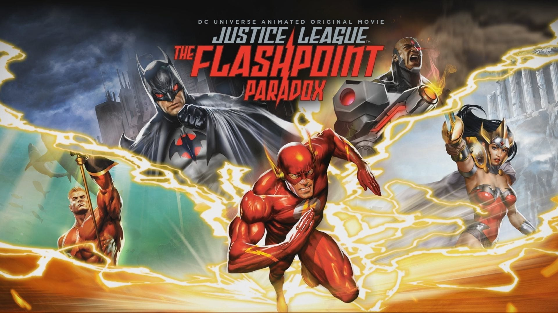 Flash Movie or Flashpoint Paradox Trailer and Release Date