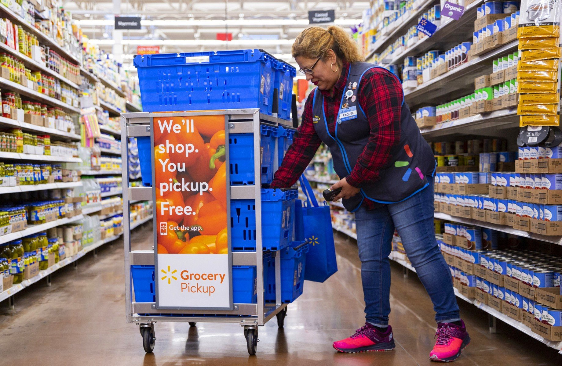 How is Walmart responding to COVID-19