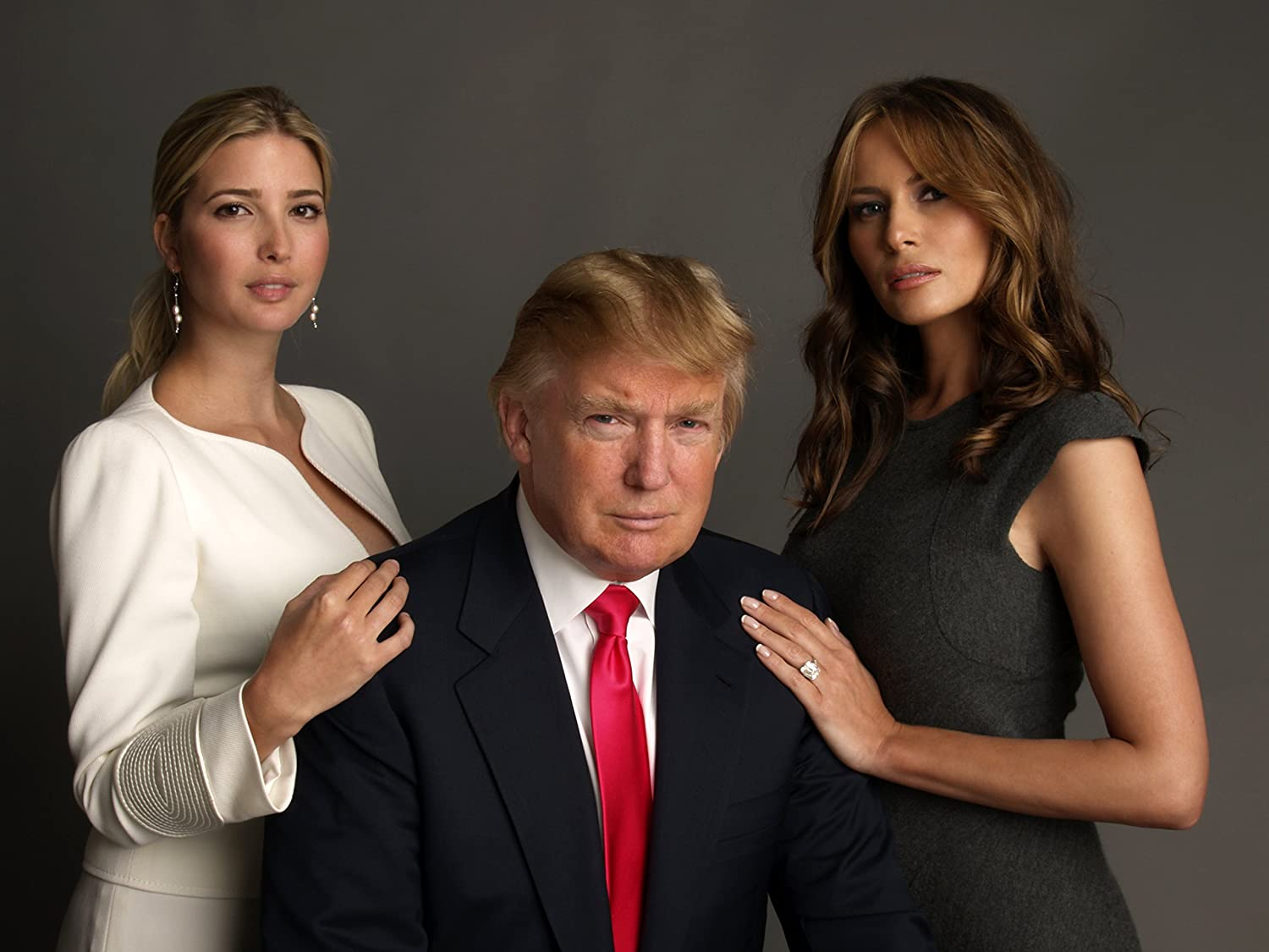 Melania and Ivanka in the Trump Family