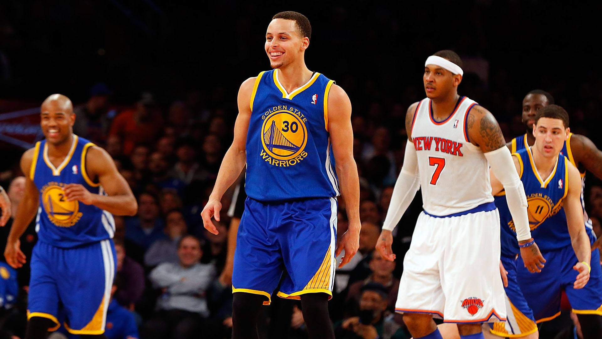 Carmelo Anthony Trade Deal with Warriors Possible