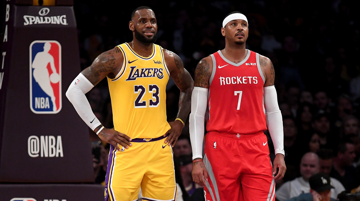 LeBron James wants Lakers to get Carmelo Anthony in 2020 Free Agency