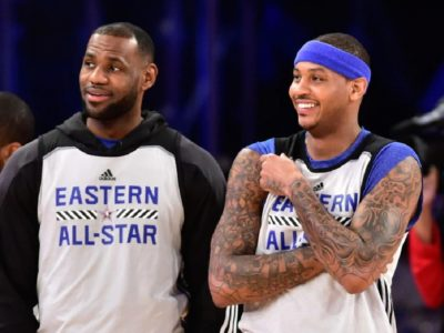 NBA 2020 Free Agency LeBron James wants to play with Carmelo Anthony in Lakers