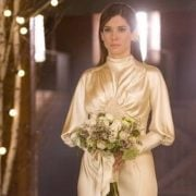 Sandra Bullock as bride in The Proposal