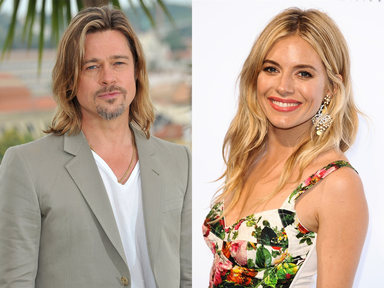 Brad Pitt and Sienna Miller are in a Secret Relationship