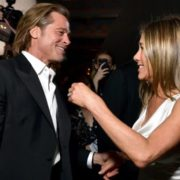 Brad Pitt and Jennifer Aniston at 2020 SAG awards