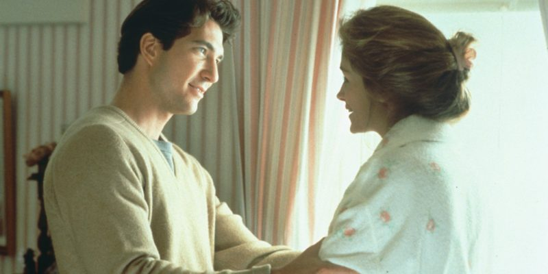 Julia Roberts with Dylan McDermott in Steel Magnolias