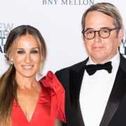 Sarah Jessica Parker with husband Matthew Broderick