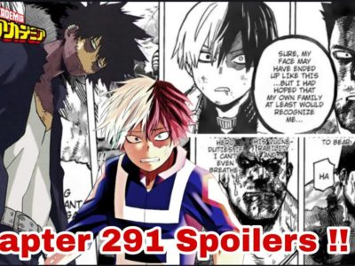 My Hero Academia Chapter 291