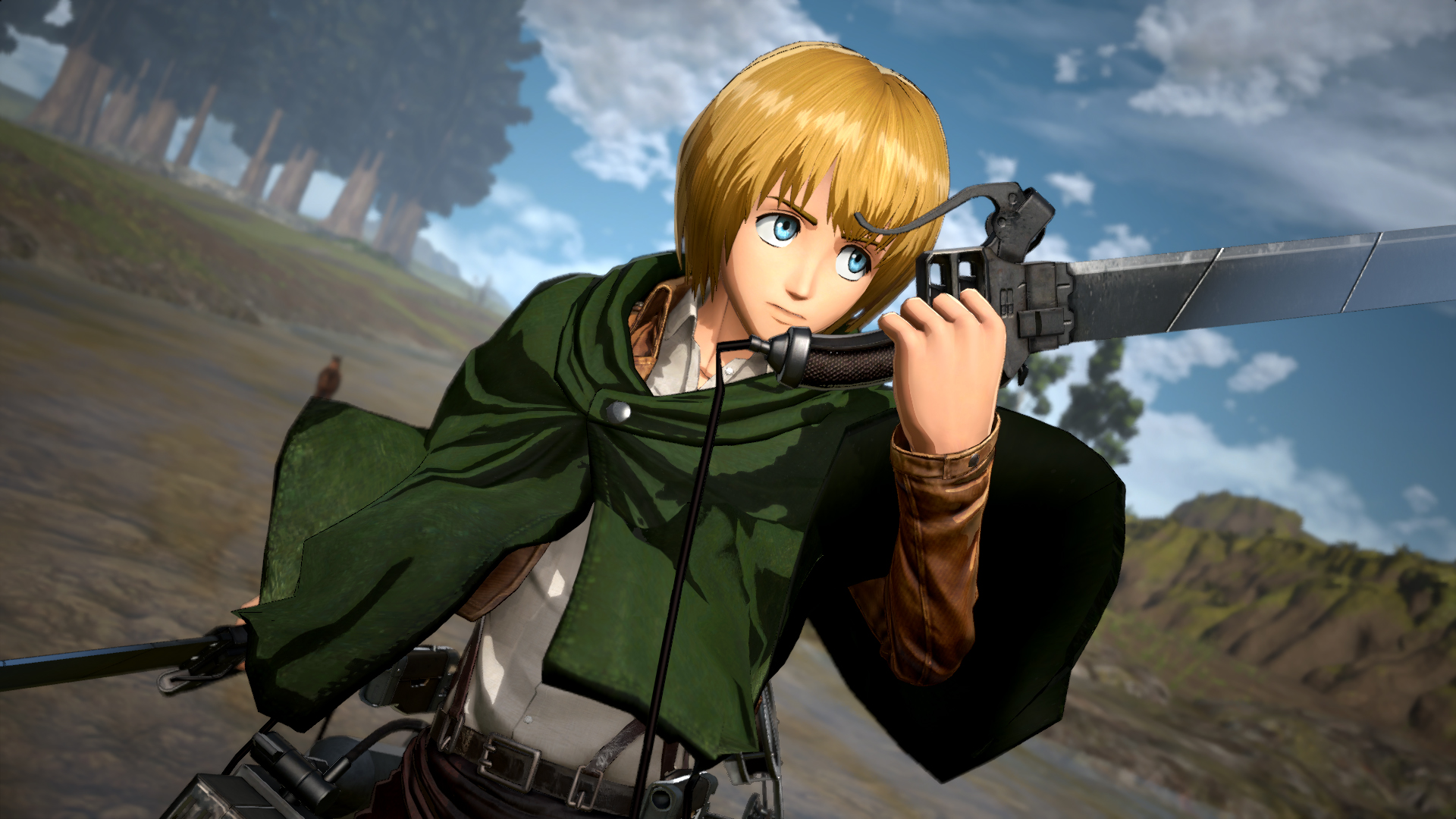 armin attack on titan